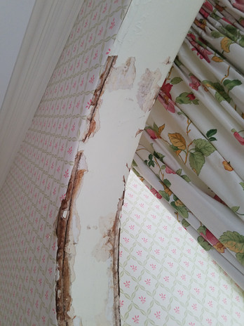 water damage before