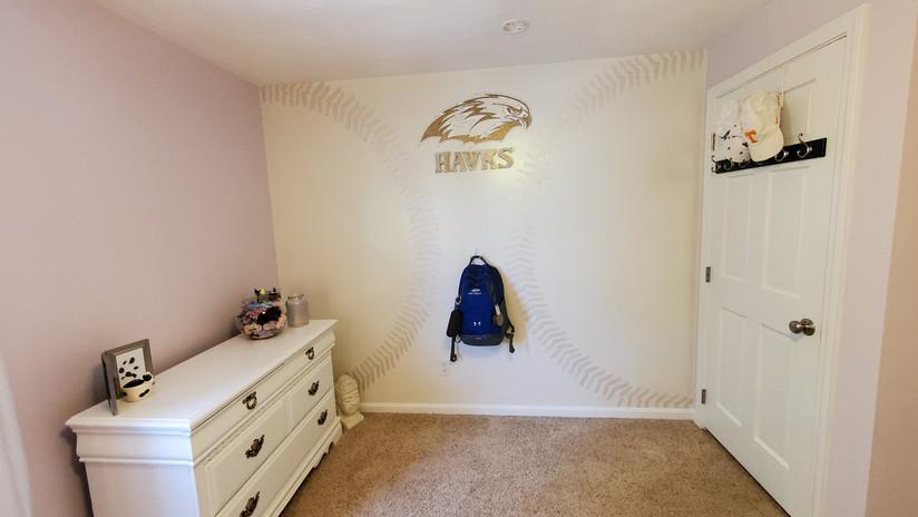 shimmer tone softball wall