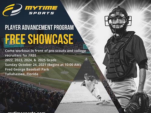 FREE Player Advancement Showcase (Tallahassee, FL) 10/24/21