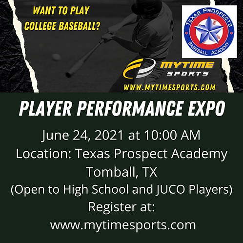 Player Performance Expo Clinic