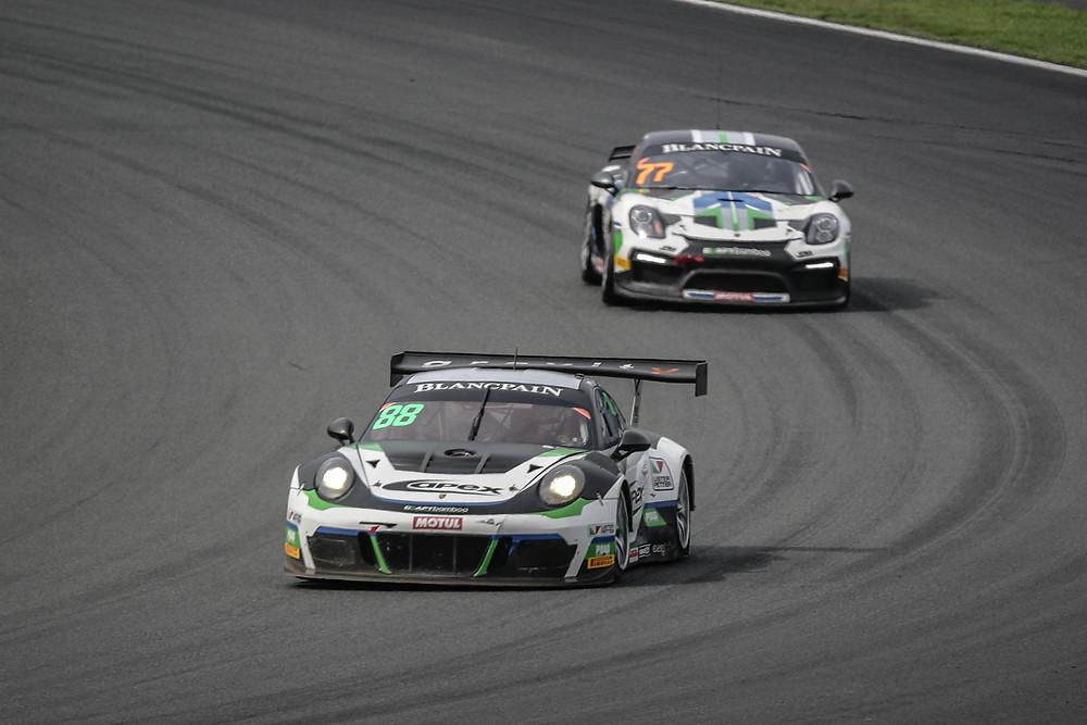 Nick Foster Blancpain GT3 Asia Fuji Porsche GT3
