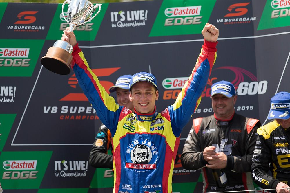 Nick Foster carrera cup champion Porsche