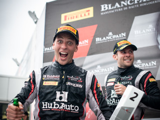 Foster Battles to Fuji Podium in Blancpain GT Asia