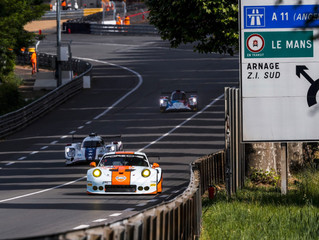 ARRIVING AT LE MANS!