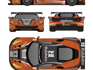 Foster Joins HubAuto Corsa and Leo Ye for Blancpain GT Series Asia