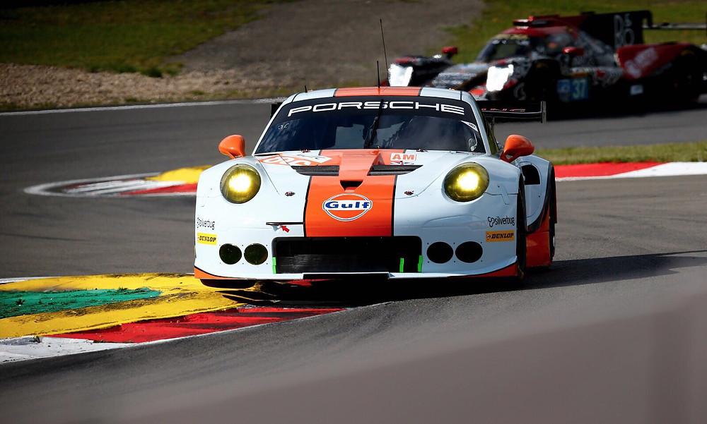 Nick Foster Porsche 911 RSR Gulf Racing FIA WEC