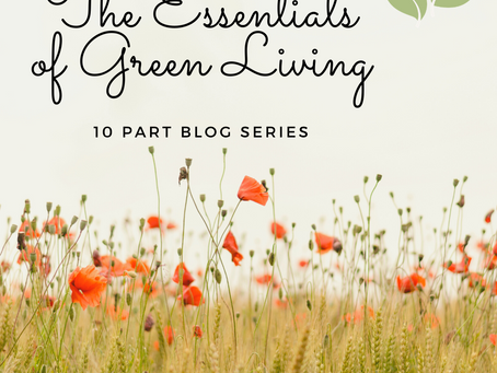 The Essentials of Green Living- 10 part series
