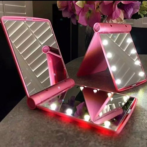 Glow Up LED Compact Mirror
