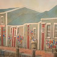 """Old South Wharf, Nantucket Harbor"""