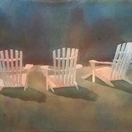 """""""3 Beach Chairs"""""""