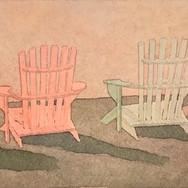 """""""4 Beach Chairs II"""""""