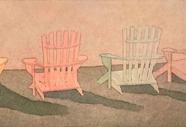 """4 Beach Chairs II"""