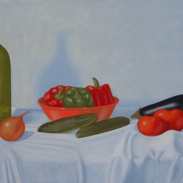 """Still Life w/Peppers"""