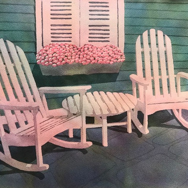 """2 Rocking Chairs III"""