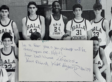 Kobe Bryant Predicted His Future in 8th Grade Yearbook