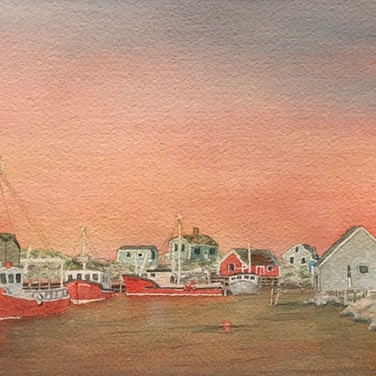 """Fishing Boats of Peggy's Cove"""