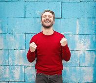 man-in-red-crew-neck-sweatshirt-photogra