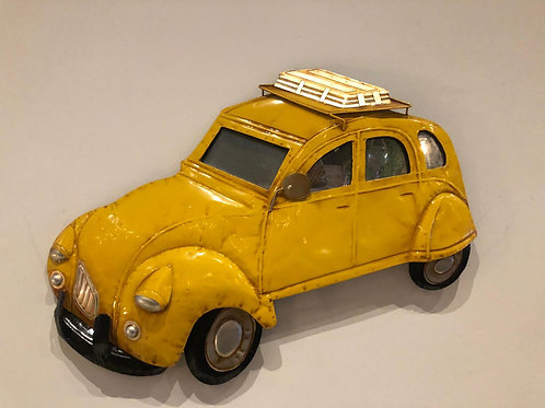 Wand decoratie 2cv