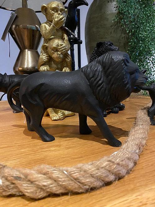 Stenen beeld leeuw