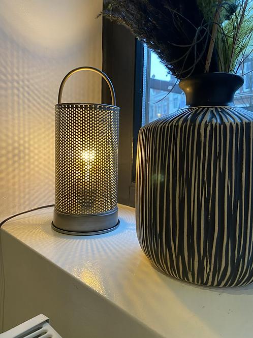 Lamp metaal antraciet