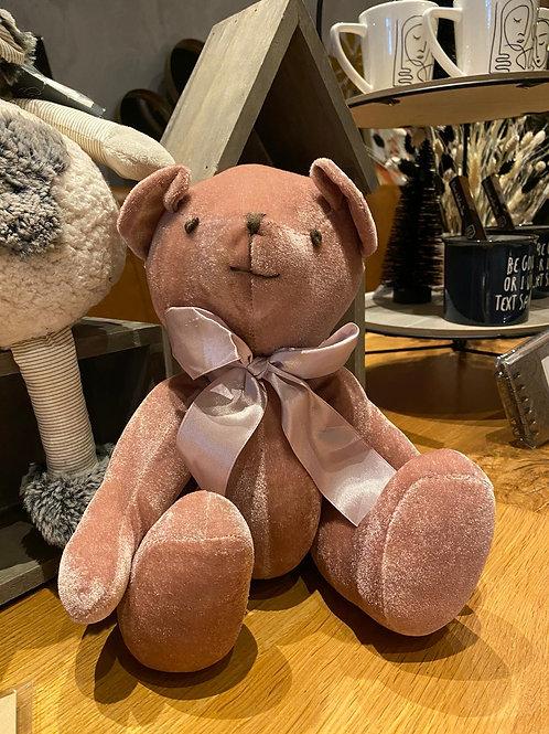 Teddybeer roze
