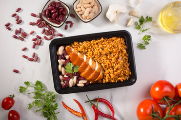 Grilled Chicken with Kabsa