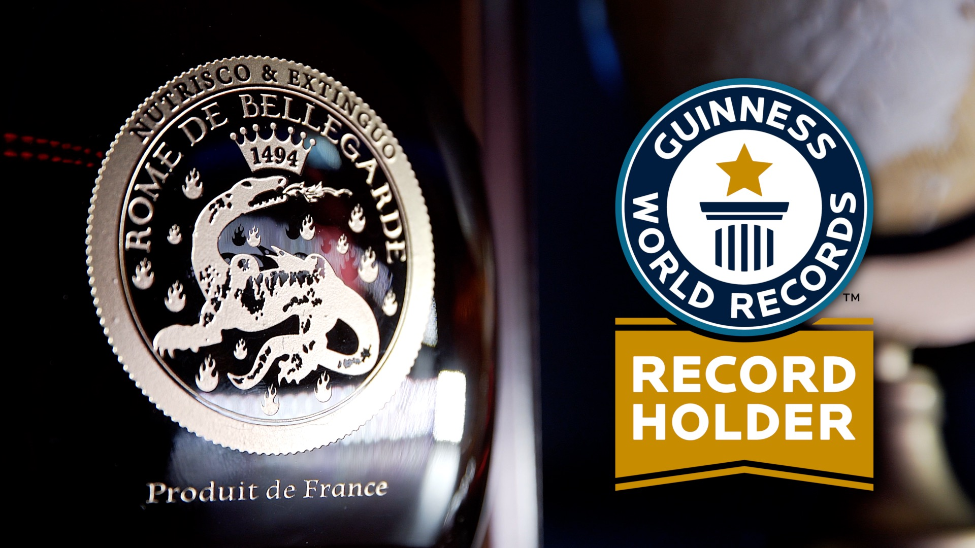 Rome De Bellegarde - Guiness World Record screen