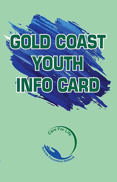 Gold Coast Youth Info Card
