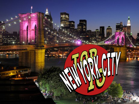 Top 10 New York City Traveler