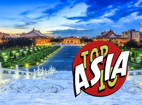 Top 10 Traveler Asia