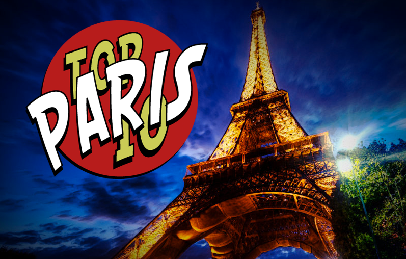 Top 10 Paris Traveler