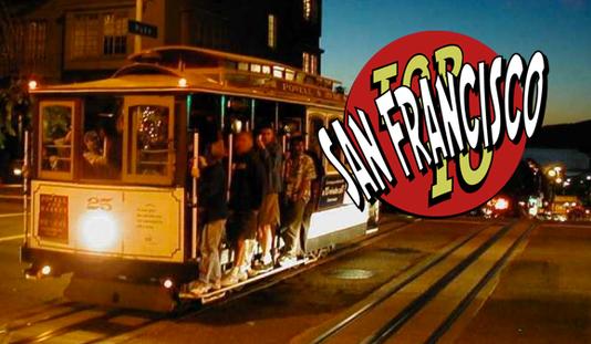 Top 10 San Francisco Traveler