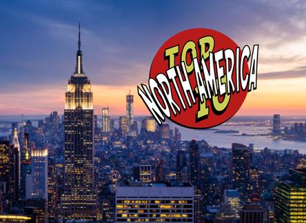Top 10 Traveler North America