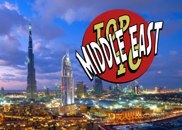 Top 10 Middle East Traveler
