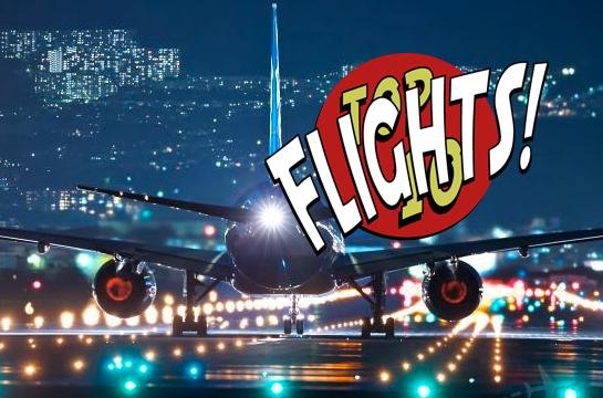 Top 10 Traveler Flights