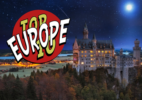 Top 10 Traveler Europe