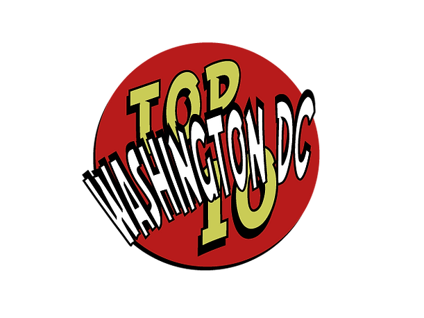 Top 10 Ten travel tips Washington DC info information attractions restaurants transportation nightclubs bars shops shopping hotels hostels maps menus phone numbers websites videos search