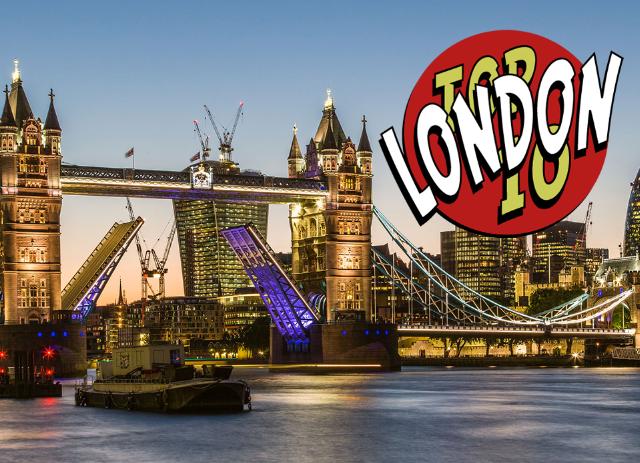 Top 10 LOndon Traveler