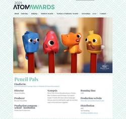 Pencil Pals: 2021 ATOM AWARDS Finalist