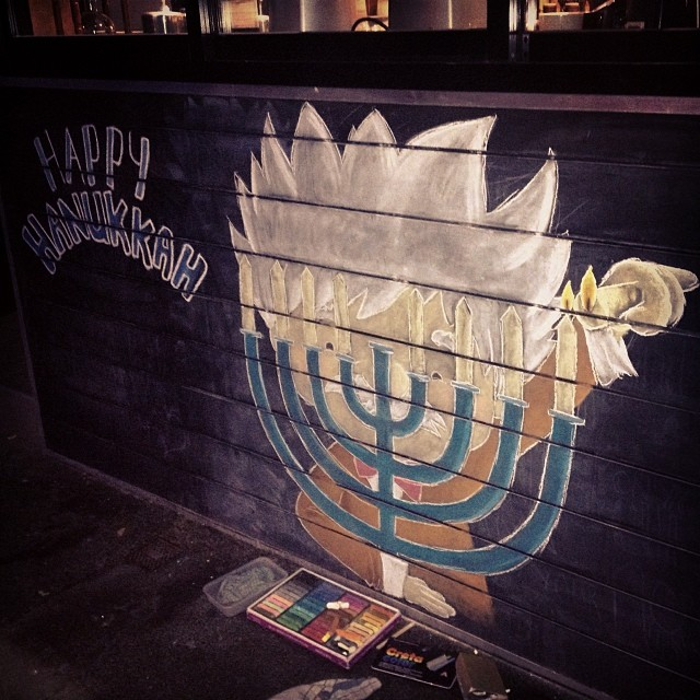 Happy Hanukkah at Einsteins!