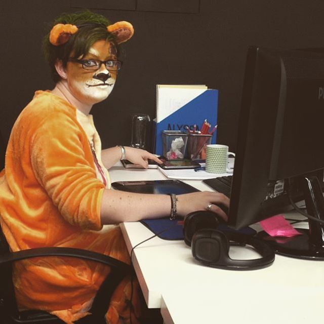 Here, we see a Cecil the Lion Ghost in their natural habitat #jumbla #happyhalloween