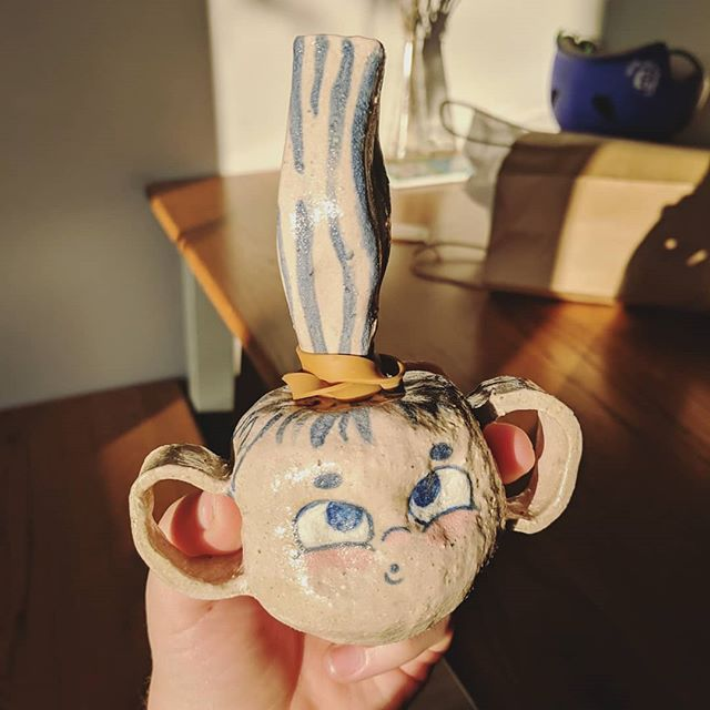 FINALLY managed to go pick up my pottery