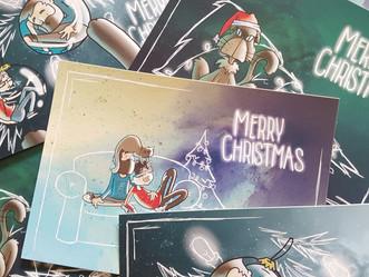 Christmas postards