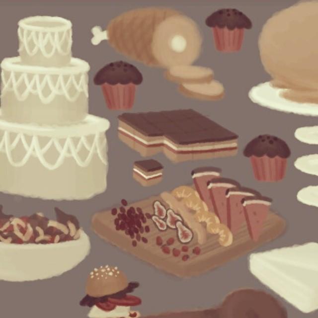 Mmmmm food assets