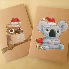 Prisma colour christmas cards