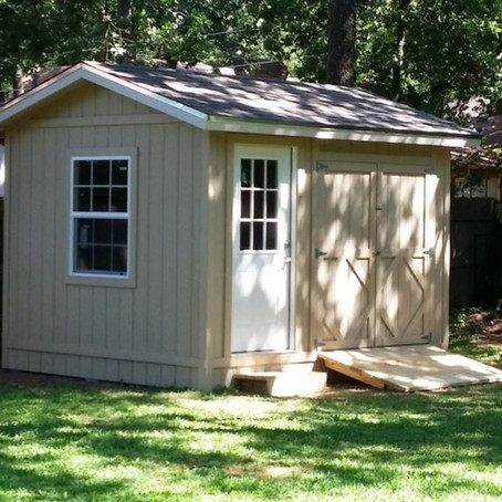 Avoid Wasting Time and Money On A Subpar Storage Shed