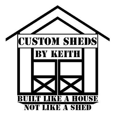 Custom Sheds by Keith Logo