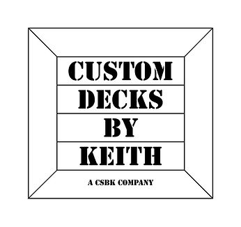 Custom Decks By Keith Logo