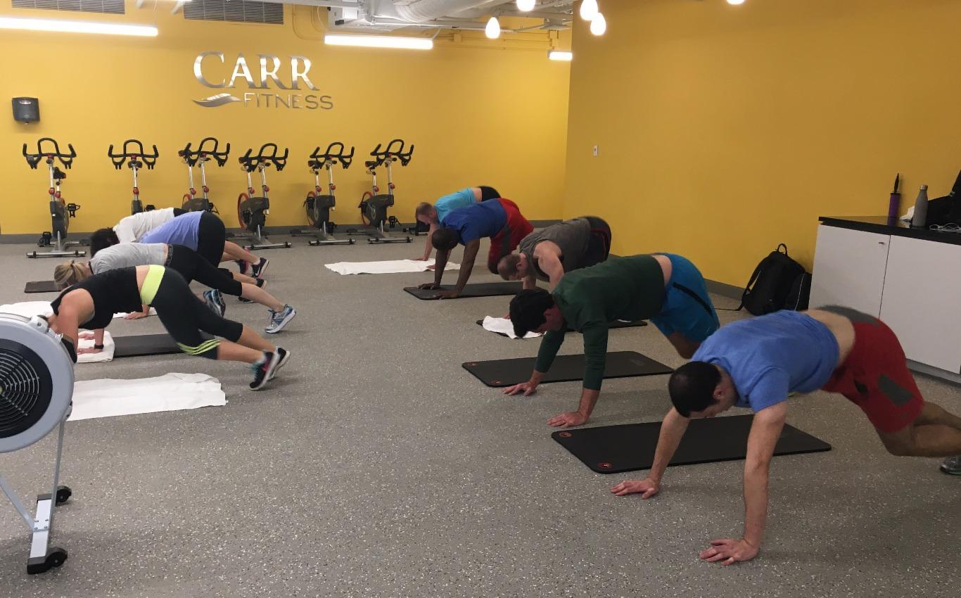 Corporate Fitness Class