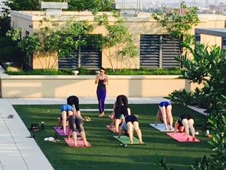 Roof-Top Yoga